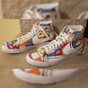 Nike Blazer Mid Patchwork Size 9.5